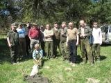 Sadzenie lasu 25 IV 2009 r. :: Sadzenie lasu