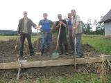 Prace przy budowie Bazy Koła 13.08.2011 r.